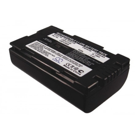 Аккумулятор для PANASONIC NV-GS11, AG-DVX100BE, AG-DVC15, NV-DS15, NV-MX7DEN, NV-DS3, NV-DS8 - CGR-D08R, CGR-D120, DZ-BP14 - 1100 mAh